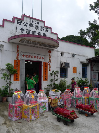 Cha kwo ling building a house